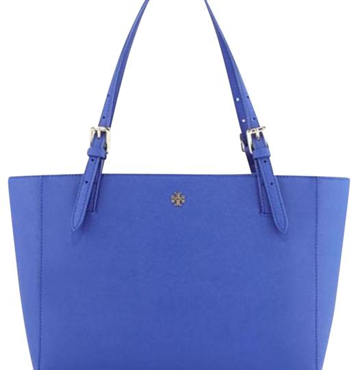 Preload https://item5.tradesy.com/images/tory-burch-large-york-jelly-blue-saffiano-leather-tote-20760549-0-1.jpg?width=440&height=440