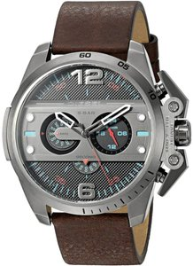 Diesel Diesel Ironside Leather Chronograph Mens Watch DZ4387