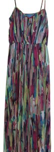 Multi color magenta Maxi Dress by Jack