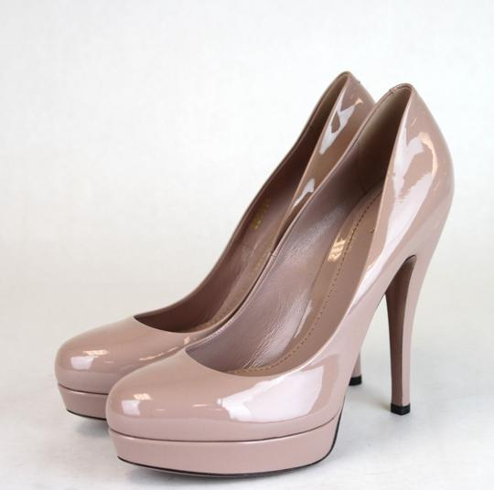 Gucci Patent Leather Platform Pink Pumps Image 3