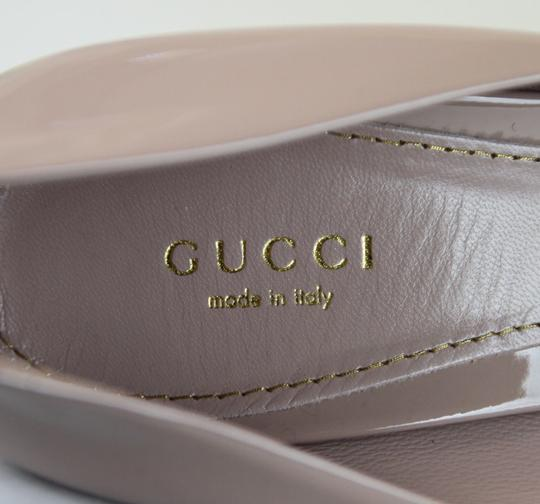 Gucci Patent Leather Platform Pink Pumps Image 7
