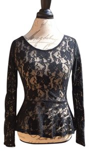 Other Lace Sexy Club Date Night Top black lace