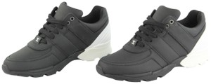 Chanel Trainer Sneakers Lace-up Black and White Athletic