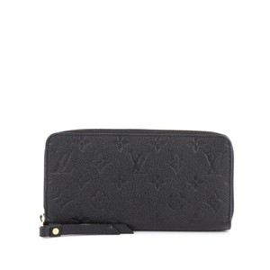 Louis Vuitton Leather Black Clutch