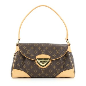 Louis Vuitton Beverly Canvas Shoulder Bag