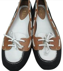 Cole Haan Black, Camel, & Off White Flats