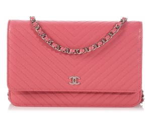 Chanel Woc New Quilted Ch.k1123.08 Shw Cross Body Bag