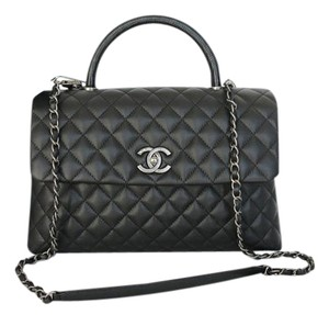 Chanel Coco Caviar Coco Medium Coco Cross Body Bag
