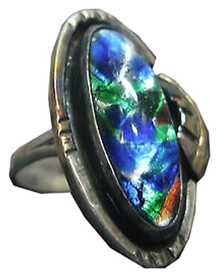 Preload https://item3.tradesy.com/images/925-sterling-silver-ladies-multi-colored-stone-ring-size-75-2076117-0-0.jpg?width=440&height=440