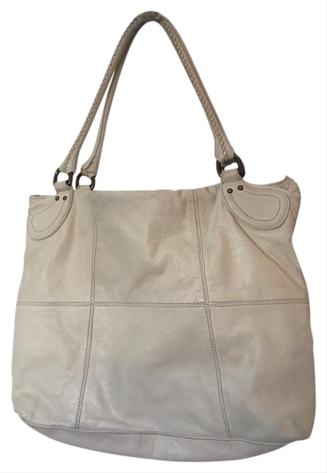 9d56b5e3c NICOLI Purse Off White Italian Leather Hobo Bag - Tradesy