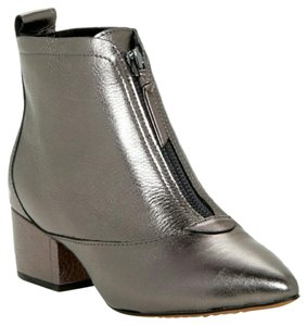 French Connection Metallic Pewter Boots