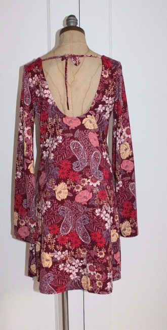 American Rag short dress MULTI Gypsy Bohemian Spring Summer Bell Sleeve on Tradesy Image 1