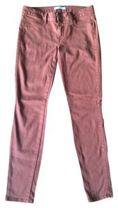 Rich & Skinny And Ankle Colored Brown Skinny Jeans