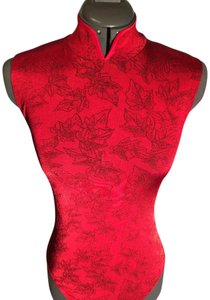 Wolford Classy Night Out Date Night Top Red