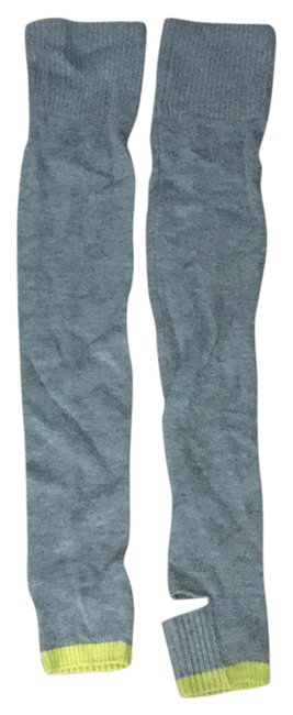 Item - Grey Leg Warmers Hosiery