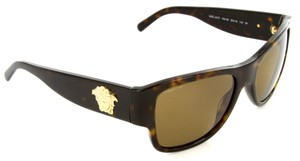 Versace NEW VERSACE (4275) Polarized Gold Medusa Sunglasses, MADE IN ITALY