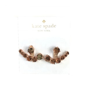 Kate Spade Kate Spade 'Dainty Sparklers' Ear Jacket Earrings, Rose Gold