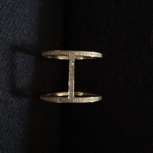 EF Collection Diamond Bar Ring
