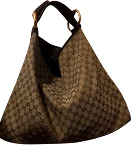 Gucci Handbag Horsebit Large Monogram Totes Totes Hobo Bag