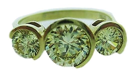 Preload https://item2.tradesy.com/images/14k-yellow-gold-3-stone-cz-ladies-ring-size-8-2076161-0-0.jpg?width=440&height=440