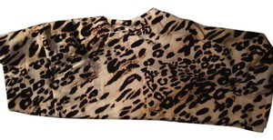 LuLaRoe New LuLaRoe OS Leggings Cheetah Leopard Animal Print Black Brown One Size Rare Leggings