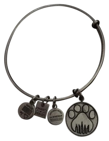 Alex and ani silver charity by design bracelet tradesy for Jewelry that supports a charity