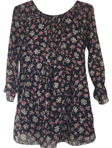 Free People ETHERAL FLORAL DRESS