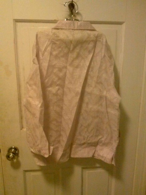 Draper's and Damon's Button Down Top light pink Image 1