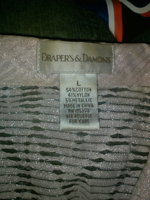 Draper's and Damon's Button Down Top light pink Image 2