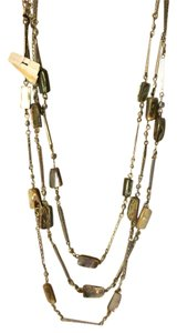 Cookie Lee layered stone necklace