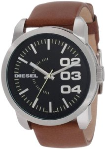 Diesel Diesel Tan Leather Mens Watch DZ1513