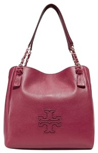 Tory Burch Tote in wine