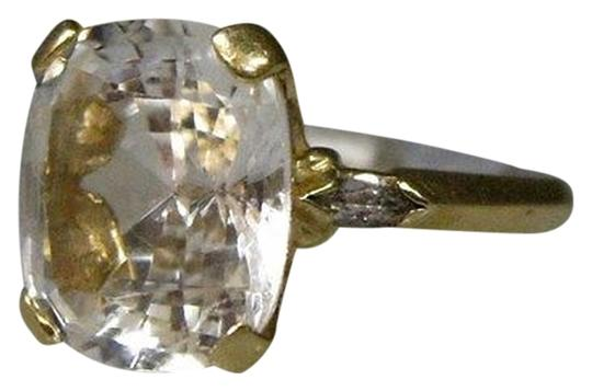 Preload https://item5.tradesy.com/images/14k-yellow-gold-clear-stone-ladies-ring-size-625-2076204-0-0.jpg?width=440&height=440