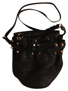 Alexander Wang Studded Leather Bucket Cross Body Bag