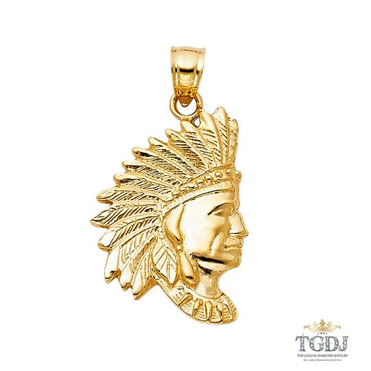 Preload https://img-static.tradesy.com/item/20762073/yellow-indian-pendant-14k-indian-pendant-charm-0-0-540-540.jpg