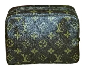 Louis Vuitton Authentic Louis Vuitton Monogram Trousse 18 Cosmetic Bag