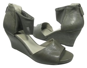 Eileen Fisher gray Wedges