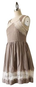 Free People short dress Taupe on Tradesy