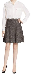 Max Studio Mini Skirt Black/Cream