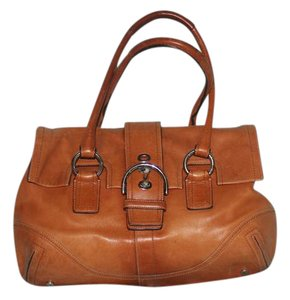 Coach Leather Hobo Cc Interior Satchel in Brown