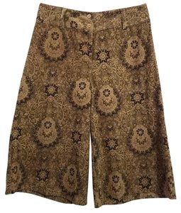 Other Capris Brown Floral