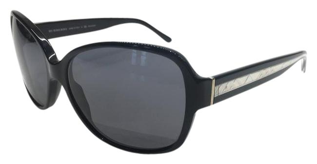 Item - Black with Silver Trim and Gray Lens New Classic Polarized 4108 3286/81 Sunglasses