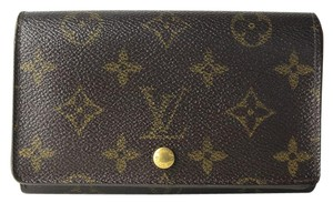 Louis Vuitton Louis Vuitton Monogram Porte Monnaie Tresor Wallet