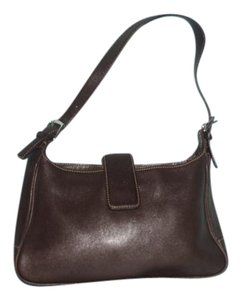 Coach Vintage Leather Satchel Shoulder Bag