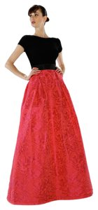 Theia Taffeta Ball Gown Gown Pockets Dress