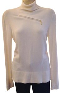 Cache Turtleneck Tunic Zippers Sweater