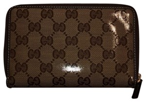 Gucci Crystal line Gg unisex wallet