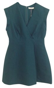 Halston short dress Teal on Tradesy