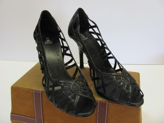 Bakers Size 10.00 M Leather Very Good Condition Black Pumps Image 1