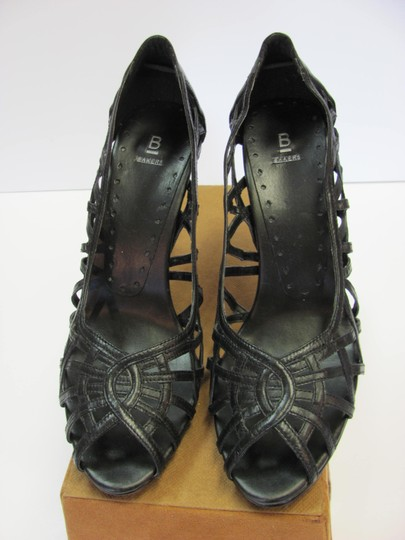 Bakers Size 10.00 M Leather Very Good Condition Black Pumps Image 4